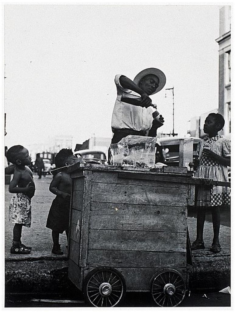 《シカゴ こども》1950年頃 ©高知県,石元泰博フォトセンター