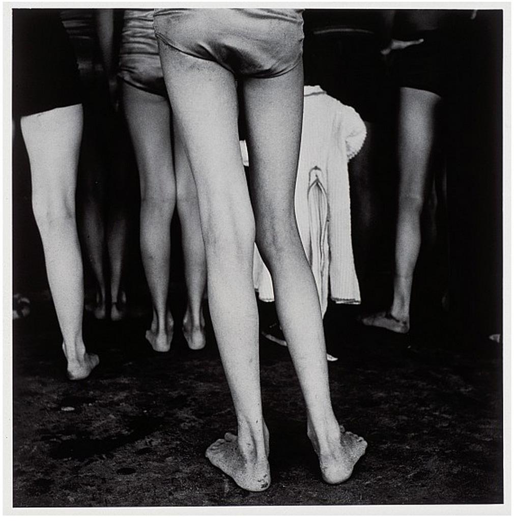 《シカゴ ノース・アベニュー・ビーチ》1948-52年 ©高知県,石元泰博フォトセンター