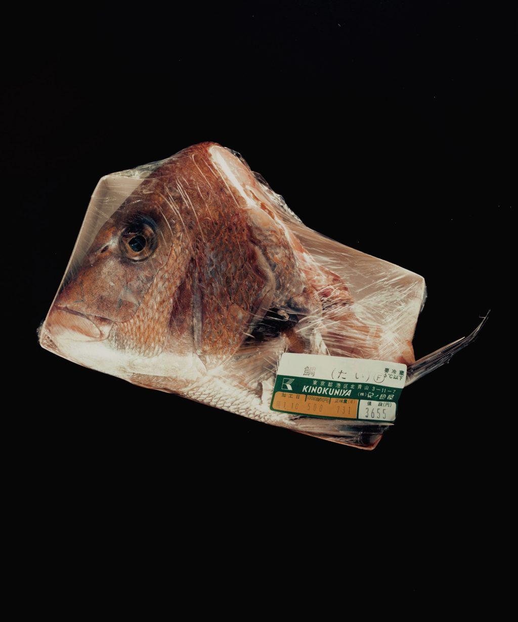 《包まれた食物》 1984-85年 ©高知県, 石元泰博フォトセンター
